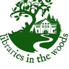 libraries in the woods logo