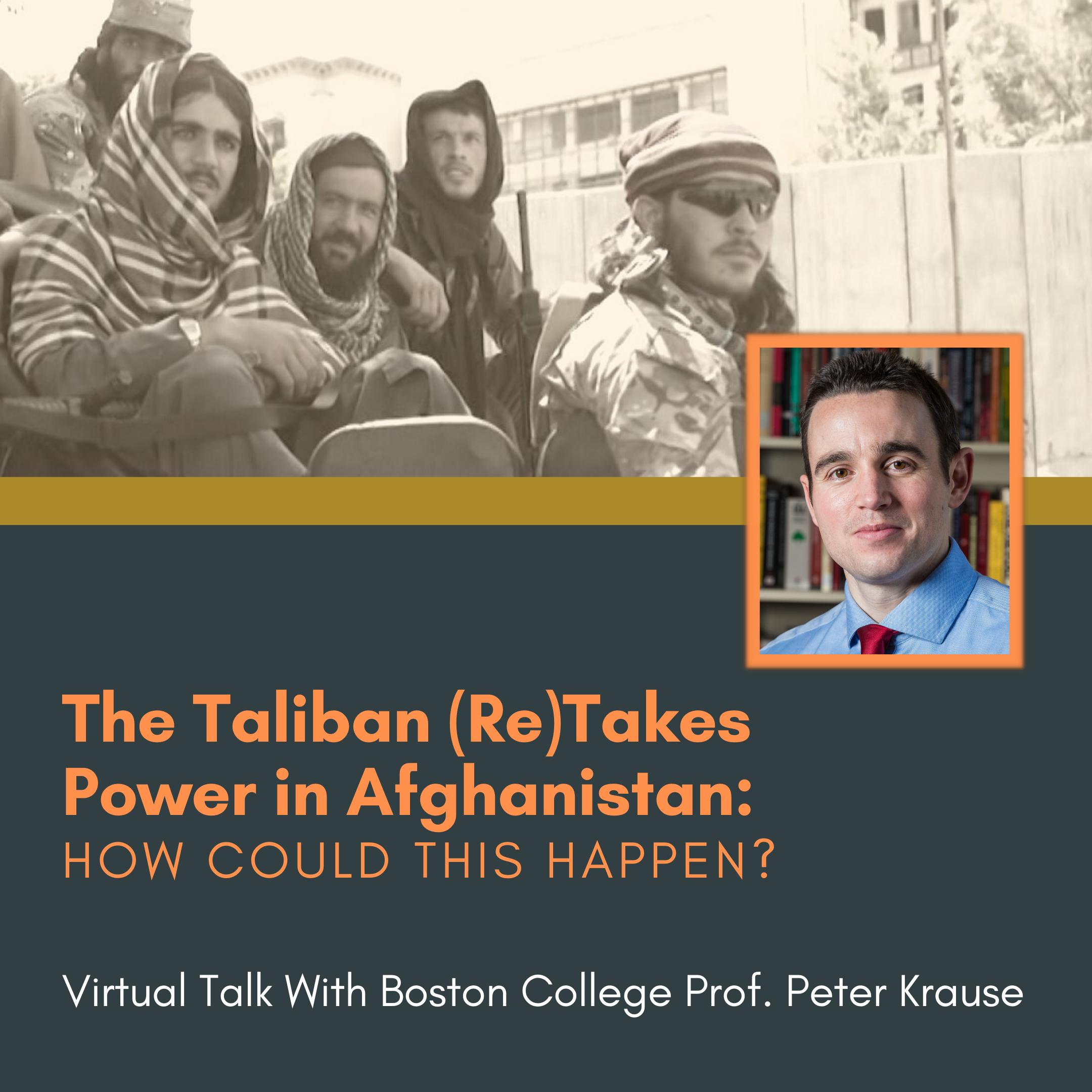 Tilton Library presents-Modern History of the Taliban & Afghanistan: A Virtual Talk